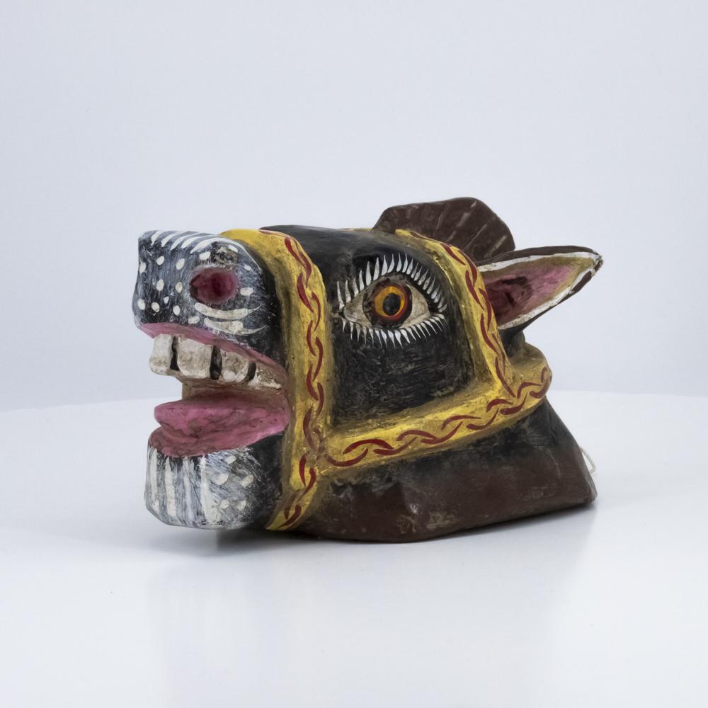 Crazy Horse Wooden Mask
