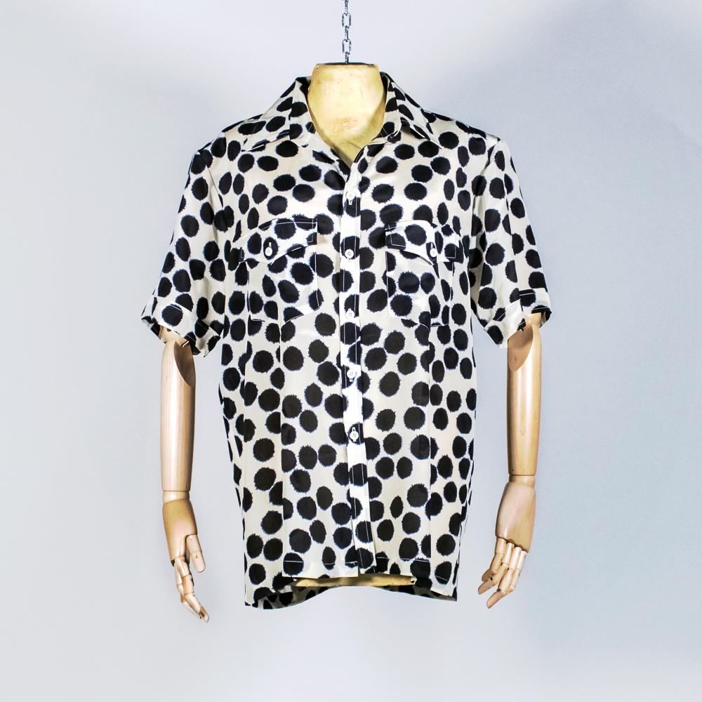 Exclusive Silk Shirt - Crazy Dots