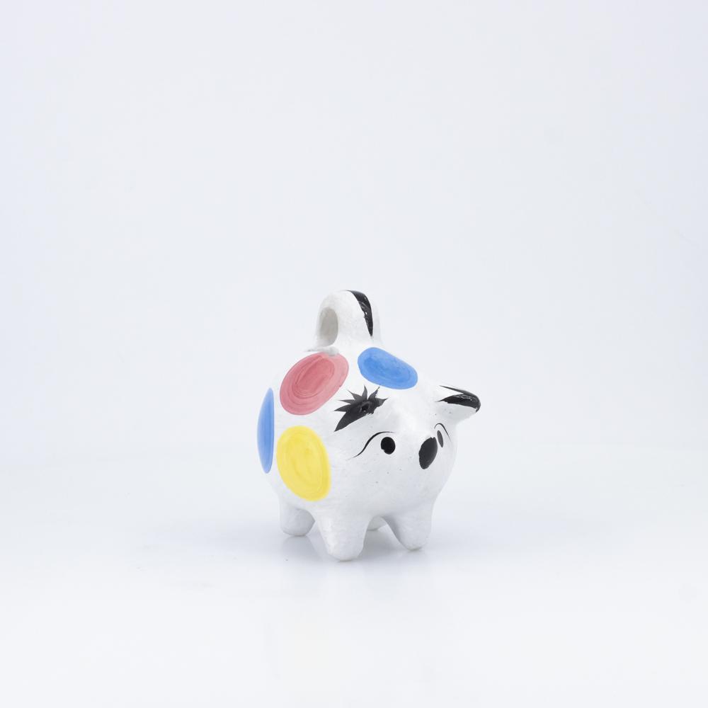 Ceramic Polka Money Keeper, S