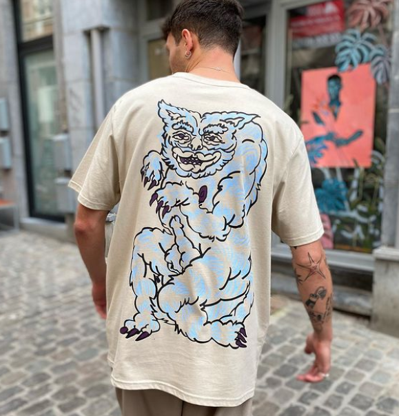 Andrea x Extra-Ordinaire T-shirt / Available on the online shop and at the store